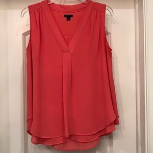 Ann Taylor size S sleeveless blouse